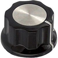 Fluted Knob with Indicator Line